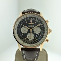 Breitling Navitimer Rattrapante Rose gold 45mm Brown United States of America, Indiana, INDIANAPOLIS