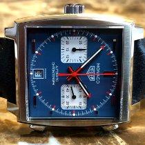 TAG Heuer Monaco Calibre 11 Steel 39mm Blue No numerals United States of America, Pennsylvania, Philadelphia