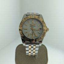 Breitling Galactic 36 Gold/Steel 36mm Mother of pearl United States of America, Indiana, INDIANAPOLIS