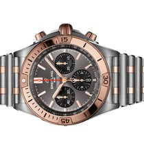 Breitling Chronomat Gold/Steel 42mm Grey No numerals