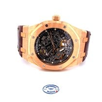 Audemars Piguet Royal Oak Selfwinding Rose gold 39mm Transparent No numerals United States of America, California, Beverly Hills