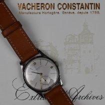 Vacheron Constantin Patrimony Acier 34.5mm Argent Romains France, paris