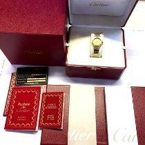 Cartier Santos (submodel) Gelbgold 24mm Gold Keine Ziffern Deutschland, Oberstaufen