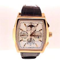 IWC Da Vinci Perpetual Calendar Pозовое золото 43mm Cеребро Без цифр