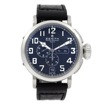 Zenith Pilot Type 20 Annual Calendar Steel 48mm Black Arabic numerals United States of America, Arizona, SCOTTSDALE