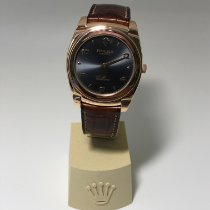 Rolex Cellini Roségold 36mm Grau Arabisch