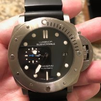 Panerai Luminor Submersible 1950 3 Days Automatic Titanium 47mm Black No numerals United States of America, California, La Habra