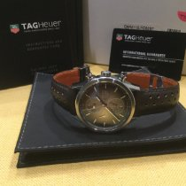 TAG Heuer Carrera Calibre 1887 Steel 41mm Brown No numerals United States of America, California, Long Beach