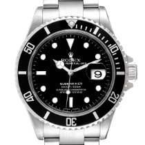 Rolex Submariner Date Stahl 40mm Schwarz