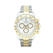 Rolex Daytona Gold/Steel 40mm White No numerals South Africa, Centurion