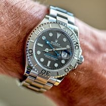 Rolex Yacht-Master 40 Steel 40mm Grey No numerals United States of America, Florida, Naples