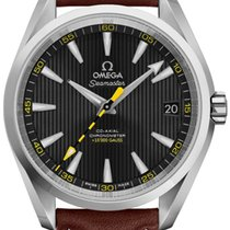 Omega Steel Automatic Black 41.5mm new Seamaster Aqua Terra