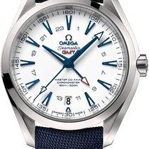 Omega Titanium Automatic White 43mm new Seamaster Aqua Terra