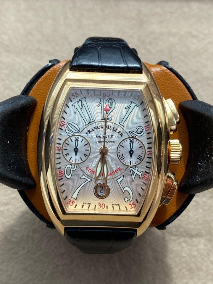 Franck Muller Conquistador 8005 CC 2000 подержанные