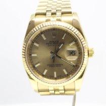 Rolex Datejust 116238 Foarte bună Aur galben 36mm Atomat România, Bucuresti