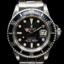Rolex Submariner Date Сталь 40mm Красный