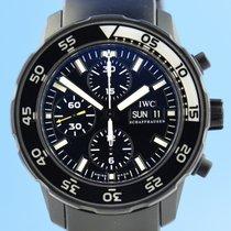 IWC Aquatimer Chronograph Steel 43.5mm Black
