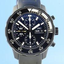 IWC Aquatimer Chronograph Stahl 43.5mm Schwarz
