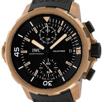 IWC Bronze Automatic Black 44mm pre-owned Aquatimer Chronograph