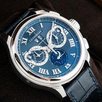 Chopard Platinum Manual winding Blue 45mm new L.U.C