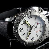 Girard Perregaux Sea Hawk Stahl 42mm Weiß Arabisch