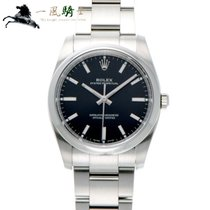 Rolex Oyster Perpetual 34 Steel 34mm Black