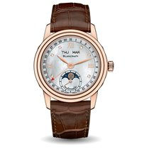 Blancpain Léman Moonphase new 2020 Automatic Watch with original box and original papers 2360-3691A-55B