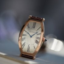 Cartier Rose gold 46.1mm Manual winding Tonneau pre-owned