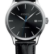 Ebel 100 Steel 40mm Black United States of America, New York, Brooklyn