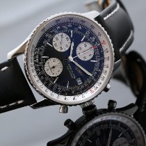 Breitling Old Navitimer A13322 Muy bueno Acero 41.5mm Automático