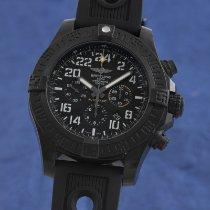 Breitling Automatik Schwarz 50mm gebraucht Avenger Hurricane