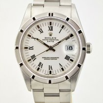 Rolex Oyster Perpetual Date Steel 34mm White Roman numerals United States of America, Washington, Bellevue