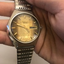 Seiko King Steel 37mm Brown No numerals