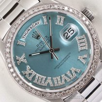 Rolex Day-Date 36 36mm Blauw