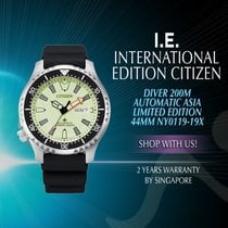 Citizen Steel Automatic NY0119-19X new