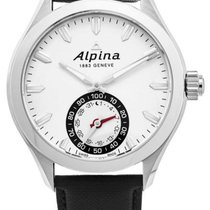 Alpina Horological Smartwatch Acero 44mm Plata