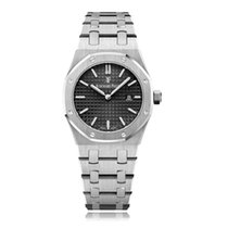 Audemars Piguet Royal Oak Lady Сталь 33mm Черный Без цифр