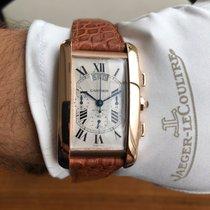 Cartier Tank Américaine W2609356 Muito bom Ouro rosa 31.5mm Automático