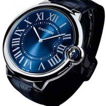 Cartier Ballon Bleu 44mm Platino 46mm Azul Romanos