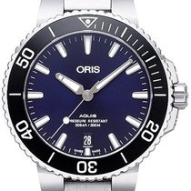 Oris Steel Automatic Blue 39.5mm new Aquis Date