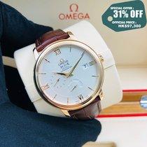 Omega Oro rosa Automático Plata 39.5mm nuevo De Ville Prestige