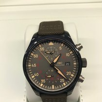 IWC Pilot Chronograph Top Gun Miramar Ceramic 44mm Grey Arabic numerals