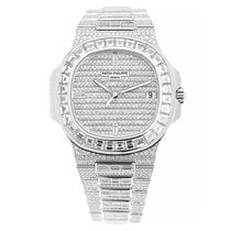 Patek Philippe Nautilus White gold 40mm Silver United States of America, New York, New York