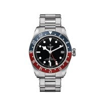 Tudor Black Bay GMT Steel 41mm Black No numerals United States of America, Iowa, Des Moines