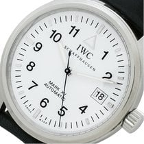IWC Pilot Mark occasion 38mm Blanc