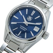 TAG Heuer Carrera Lady Staal 28mm Blauw