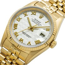 Rolex 16238 Or jaune Datejust 36mm occasion