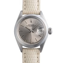 Rolex Oyster Perpetual Lady Date Steel 25mm Grey