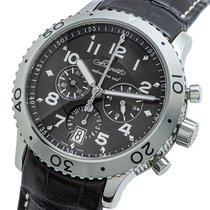 브레게 스틸 자동 회색 42mm 중고시계 타입 XX - XXI - XXII