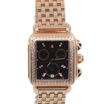 Michele Deco Gold/Steel 33mm Brown United States of America, New York, New York